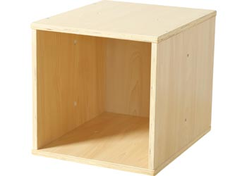 how to build a wooden cube frame